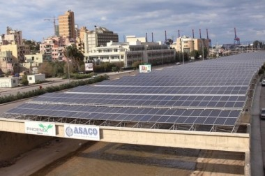 The Beirut River Solar Snake project is set to contribute to Lebanon's power network by the end of April 2015.