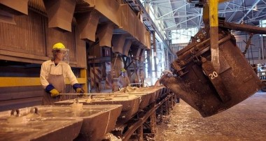 Energy-intensive aluminum manufacture.