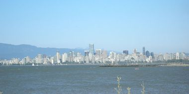 Downtown Vancouver. Photo by Connonmah, via Wikimedia Commons.