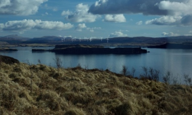 An impression of the turbines in situ at Glen Ullinish.