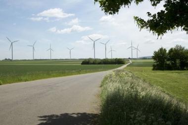 a rwe windfarm