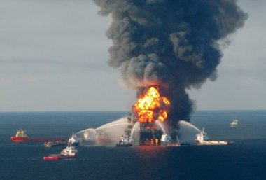 The 2010 BP Disaster. US Coast Guard Photo