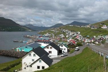 Runavík, Faroe Islands. Photo by Erik Christensen. Wikimedia Commons.