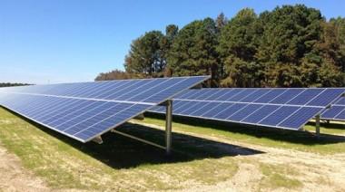 Solar array in Florida