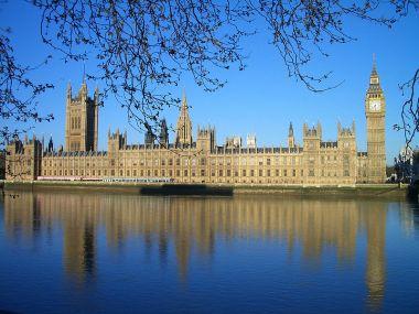 Palace of Westminster. Photo by Tony Moorey. Wikimedia Commons.