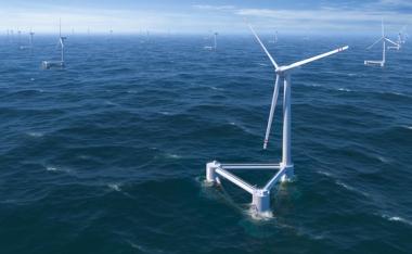 Principle Power WindFloat offshore windfarm