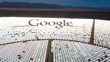 Ivanpah is partly funded by Google