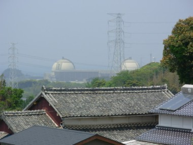 Kyushu's Genkai nuclear power plant. Photo by KEI. Wikimedia Commons.