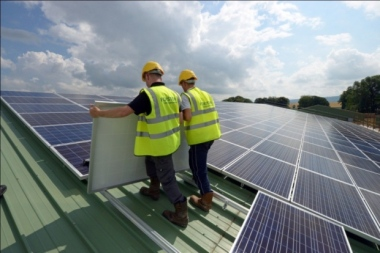 John Forster says the number of people directly employed in the solar power industry in Scotland could grow from around 400 currently to up to 5,000.