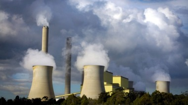 Australian coal plant.