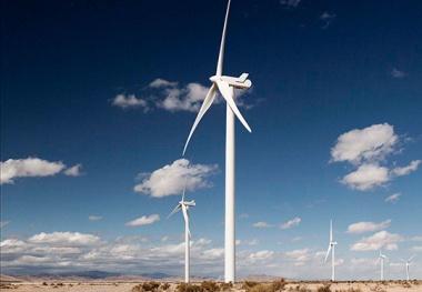 Wind farm in Oklahoma.