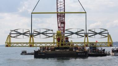Photo courtesy of Ocean Renewable Power Co.