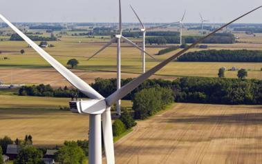 2.4-MW Nordex turbines. Source: Nordex SE