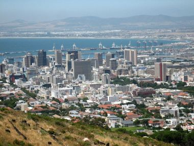Cape Town, subject to regular power outages. Photo by Iwoelbern. Released into the public domain.
