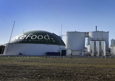 Reffod digester at Ings Road, Bentley, Yorkshire