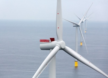 The Siemens SWT-6.0-154 at Westermost Rough offshore wind power plant (Siemens)