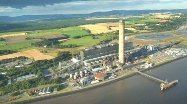 Longannet is one of the biggest coal-fired power stations in Europe.