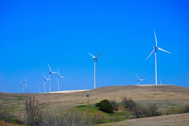 Tradewind Energy's Smoky Hills wind farm in Kansas (Tradewind Energy)