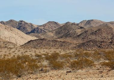 The foothills of Eagle Mountain can be seen from the edge of Joshua Tree National Park on Nov. 18, 2014. (Photo: Jay Calderon, The Desert Sun)