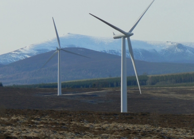 Hill of Towie wind farm in Scotland (reNEWS)