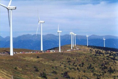 Tauernwindpark Oberzeiring, Styria, Austria. Photo by Kwerdenker. Creative Commons Attribution-Share Alike 3.0 Unported license. Wikimedia Commons.