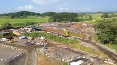 Hu Honua Bioenergy's biomass plant being built on the Big Island of Hawaii. Courtesy of Hu Honua Bioenergy.