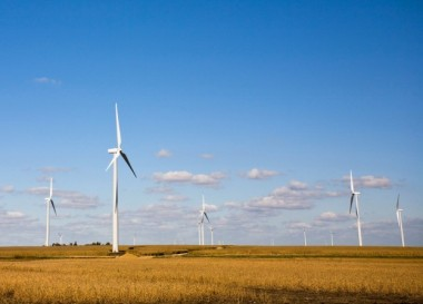 Xcel's Grand Prairie wind farm (Xcel)
