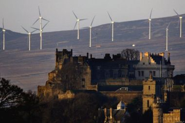 Patrick Harvie called for the probe into how policies will affect renewables such as the Braes O'Doune farm by Stirling
