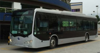 Electric bus. BYD photo.