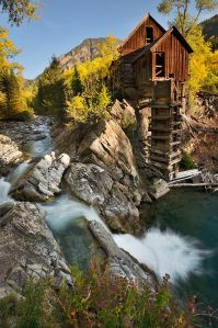 Apropos of no article, and just because I like the photo.Crystal Mill, an 1892 wooden powerhouse located on an outcrop above the Crystal River in Crystal, Gunnison County, Colorado, United States. Photo by John Fowler. CC BY 2.0