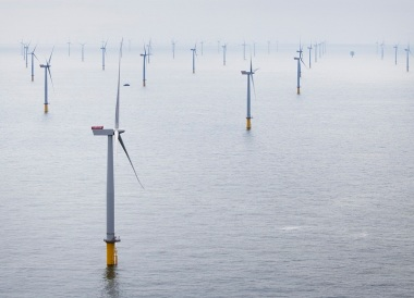 London Array - the world's largest offshore wind farm (Siemens)