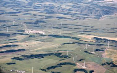Wind farm in US. Author: Sam Beebe. License: Creative Commons, Attribution 2.0 Generic.