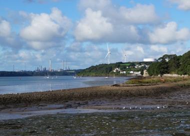 Wear Point wind farm in Wales (Infinergy)