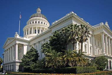 The California capital building will be 100% renewably powered.