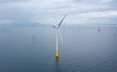 Walney Offshore Wind Farm. Photo: DONG Energy AS