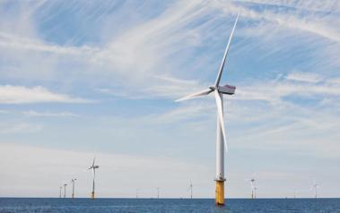 Gwynt y Mor offshore wind farm. Source: Siemens AG. www.siemens.com/press