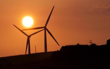 Wind turbines. Author: Vik Walker. License: Creative Commons, Attribution 2.0 Generic.