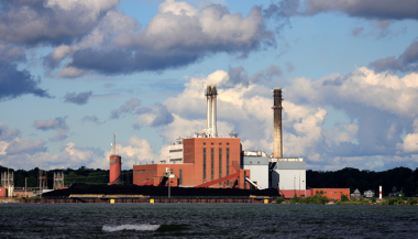 The Dunkirk power plant. (Tim Lenz)
