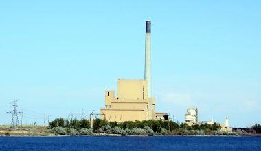 Boardman Turbine Coal Plant near Boardman, Oregon. Photo by Tedder. CC BY-SA 3.0. Wikimedia Commons.