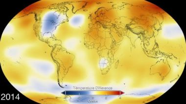 Global temperatures reached high levels in 2014 but 2015 is expected to be the warmest since records began.