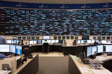 ISO New England's control room. Photo Credit ISO-NE