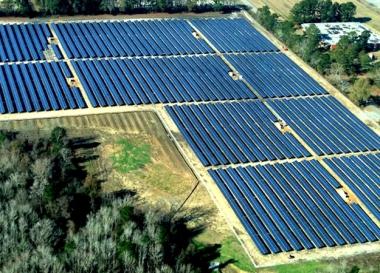 The McKenzie solar project (Strata Solar)