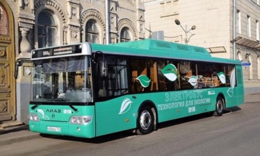 Russian electric bus