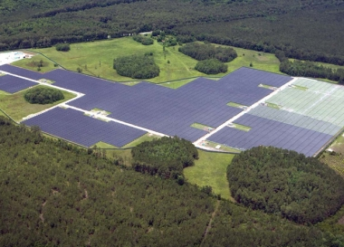 PSE&G's Jacksonville solar facility (PSE&G image)