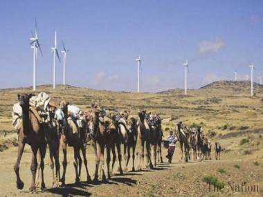 Wind turbines and sustainable transportation