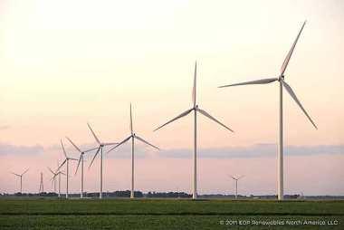 Ohio wind farm.