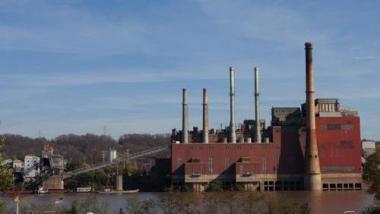 Duke Energy's Walter C. Beckjord retired coal-powered generating station. Image via Cincinnati Business Courier