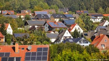 German rooftops.