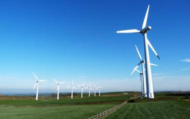 Wind farm in England. Author: stephen jones. License: Creative Commons, Attribution 2.0 Generic