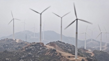 China is boosting renewable energy at a time its coal consumption is dropping.